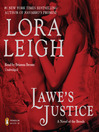 Lawe&#39;s Justice (MP3): Breeds Series, Book 25